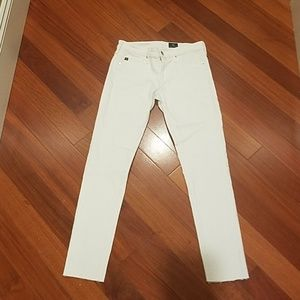 Ag Adriano Goldschmied Jeans - Adriano Goldschmied AG white super skinny ankle